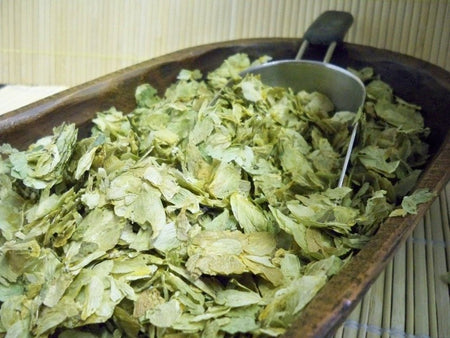 bowl of hops
