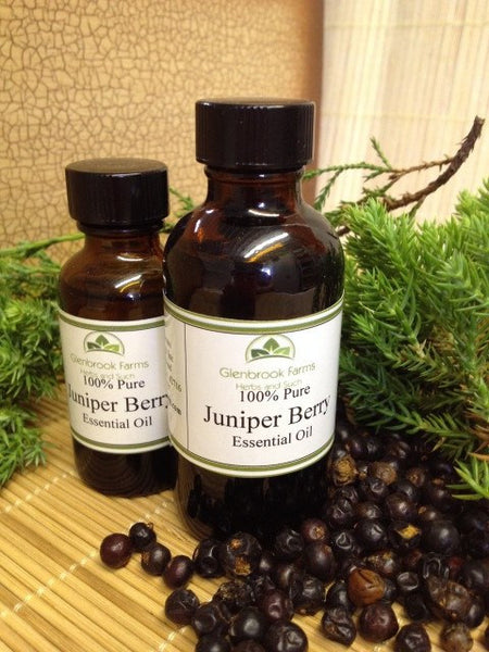 Juniper Berry Essential oil from glenbrookfarm.com