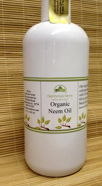 Bottle of Organic Neem oil