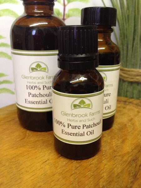 patchouli essential oil from glenbrookfarm.com suppliers of pure essential oils