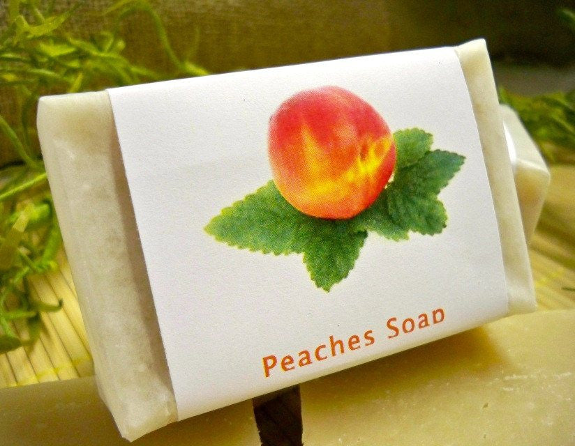 Peaches Soap ready for Summer from www.glenbrookfarm.com