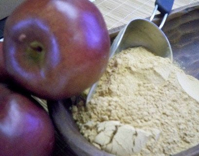 Apple Fiber powder in a bowl