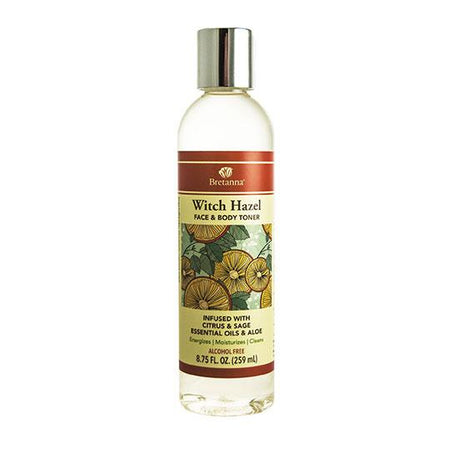 Bottle of Witch hazel Citrus and sage toner  8.75 ozs
