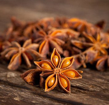 Star Anise from Glenbrookfarm.com is a favorite in our bulk herb section