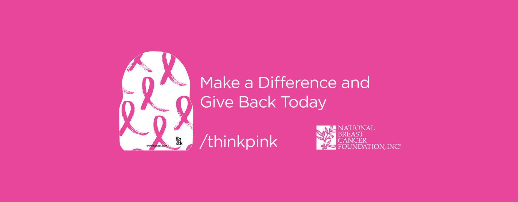Think Pink and Support Breast Cancer Awareness with Flpnstk c2d834926