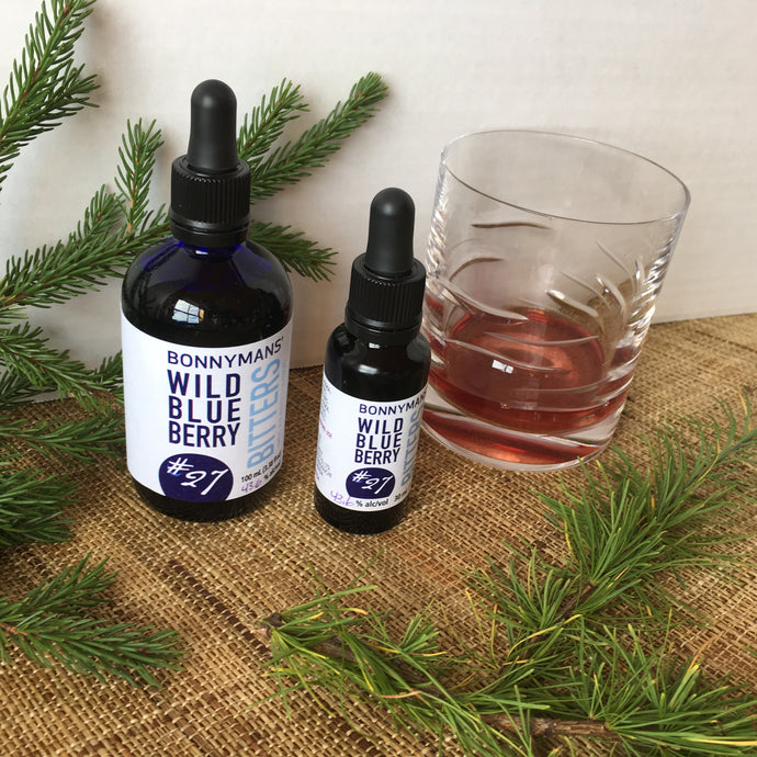 Bonnymans' Wild Blueberry Bitters #27