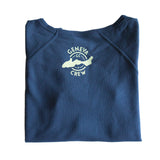 Women's Navy Crew Neck Sweater