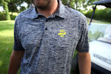 Men's Golf Polo in Navy Electric