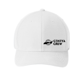 White Stretch Golf Hat
