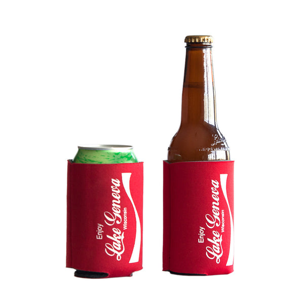 Enjoy Lake Geneva Koozie