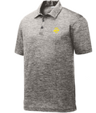 Men's Golf Polo in Black Electric