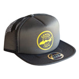 Grey Geneva Crew Trucker Hat