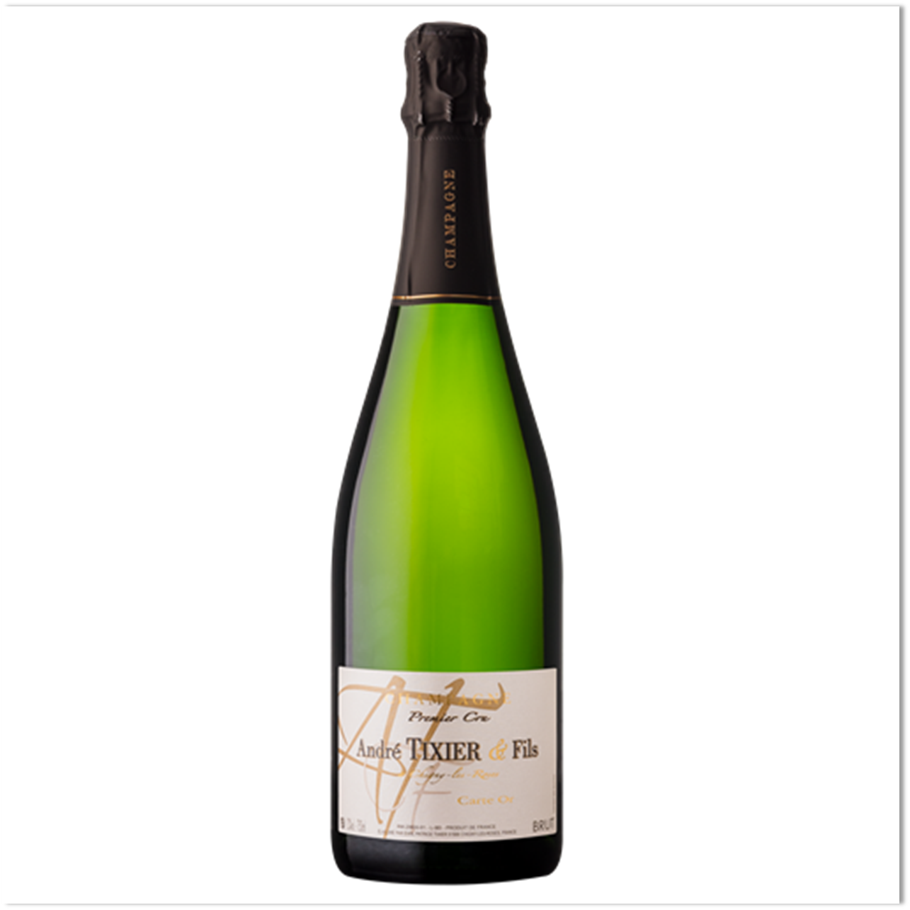 CHAMPAGNE ANDRÉ TIXIER & FILS Carte d'Or