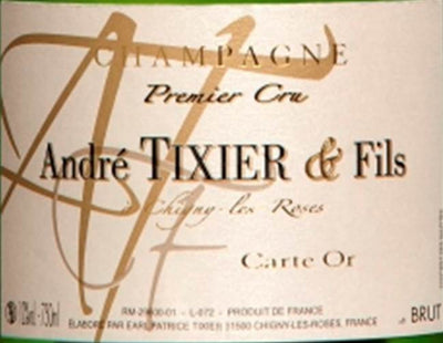 Champagne André Tixier & Fils: Carte d'Or