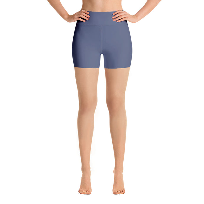 Blueberry Mule Yoga Short