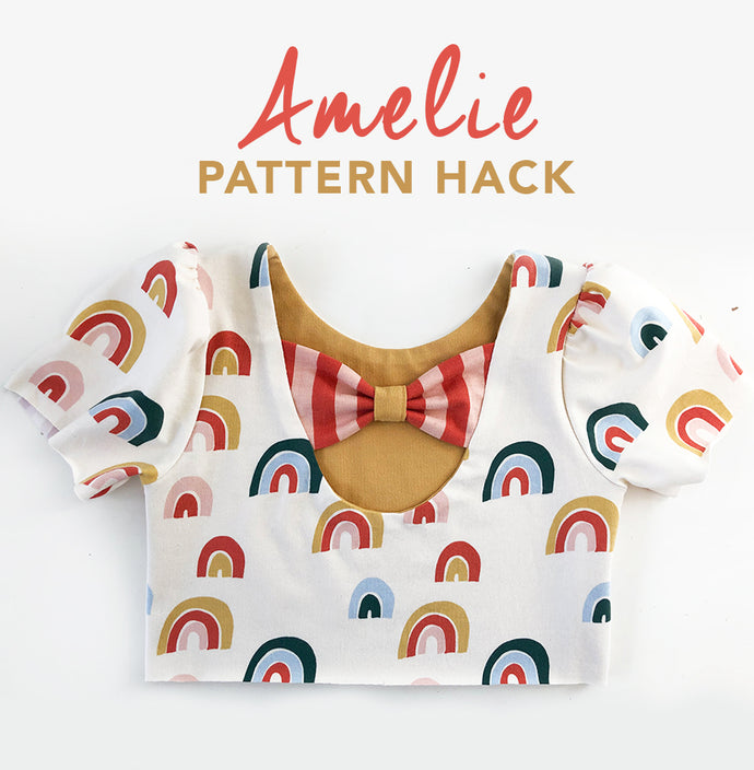 Amelie pattern hack: lined bodice
