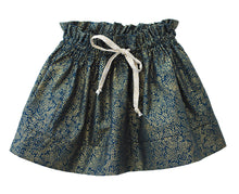 Molly skirt with waist ruffle - printed (English)