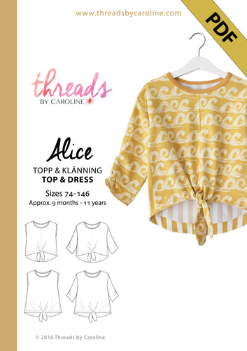 Alice top & dress - digital (English)