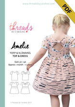 Amelie top & dress - digital (English)