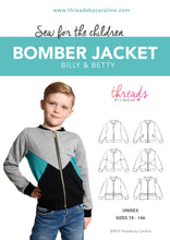 Billy & Betty bomber jacket (English)