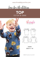 Ester & Ebbe top (English)
