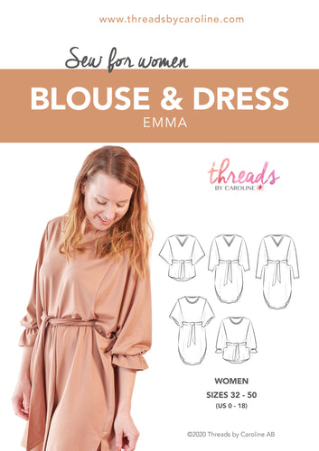 Emma blouse & dress (English)