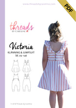 Victoria dress & jumpsuit - digital (English)