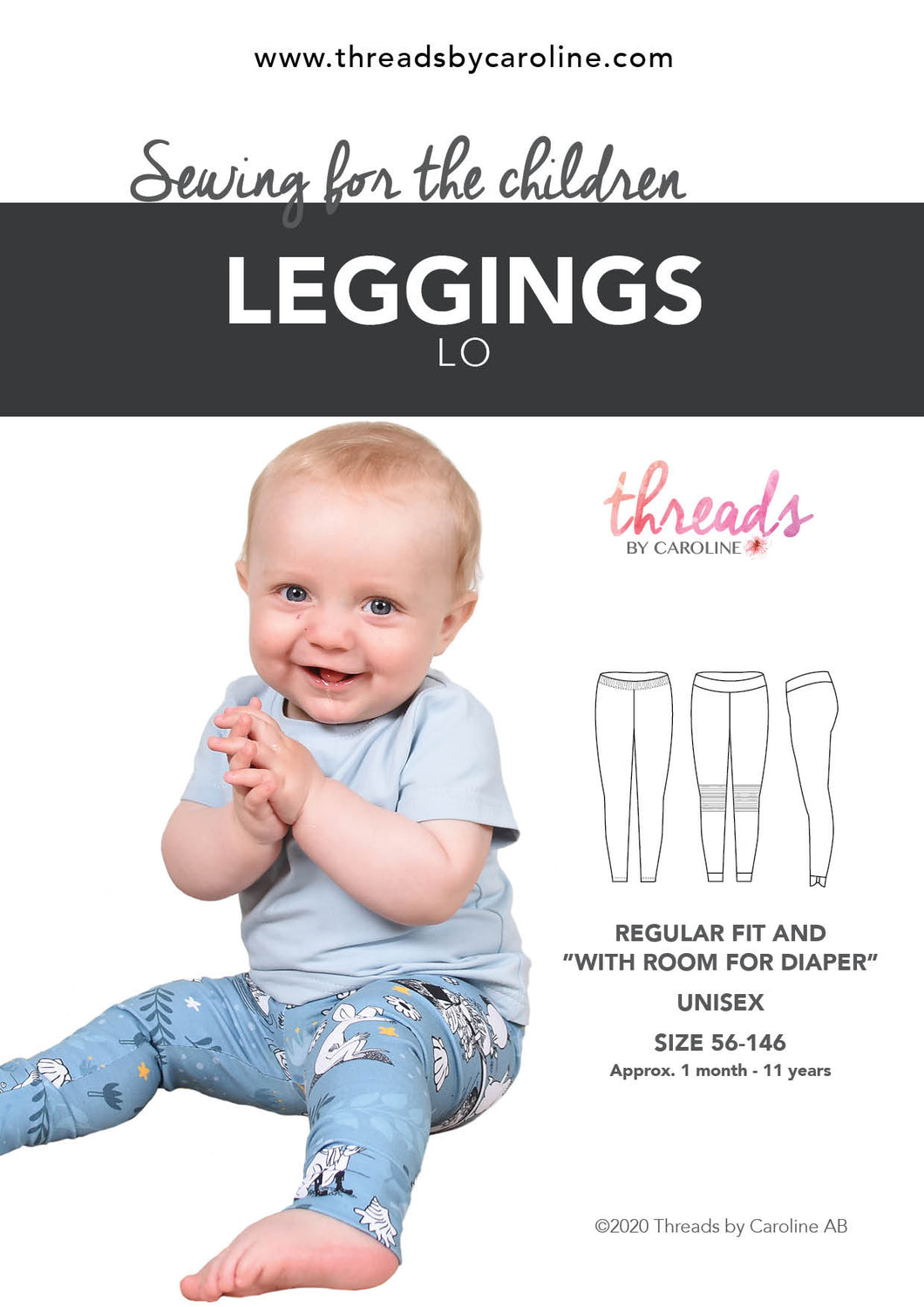 Lo leggings - digital (English)