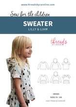 Lilly & Liam sweater - digital (English)