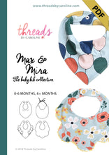 Max & Mira baby bib - digital (English)