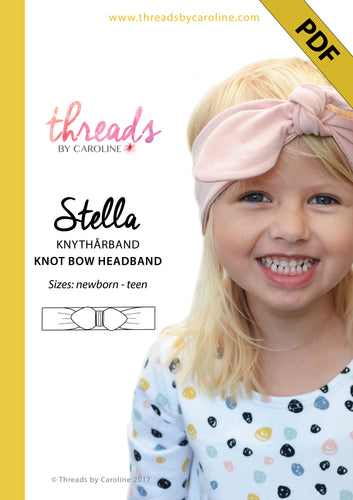 Stella headband - digital (free, with code, at purchase of other pattern) (English)