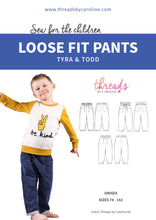 Tyra & Todd loose fit pants (English)
