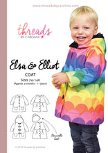 Elsa & Elliot coat - digital