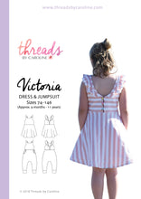 Victoria dress & jumpsuit - printed (English)