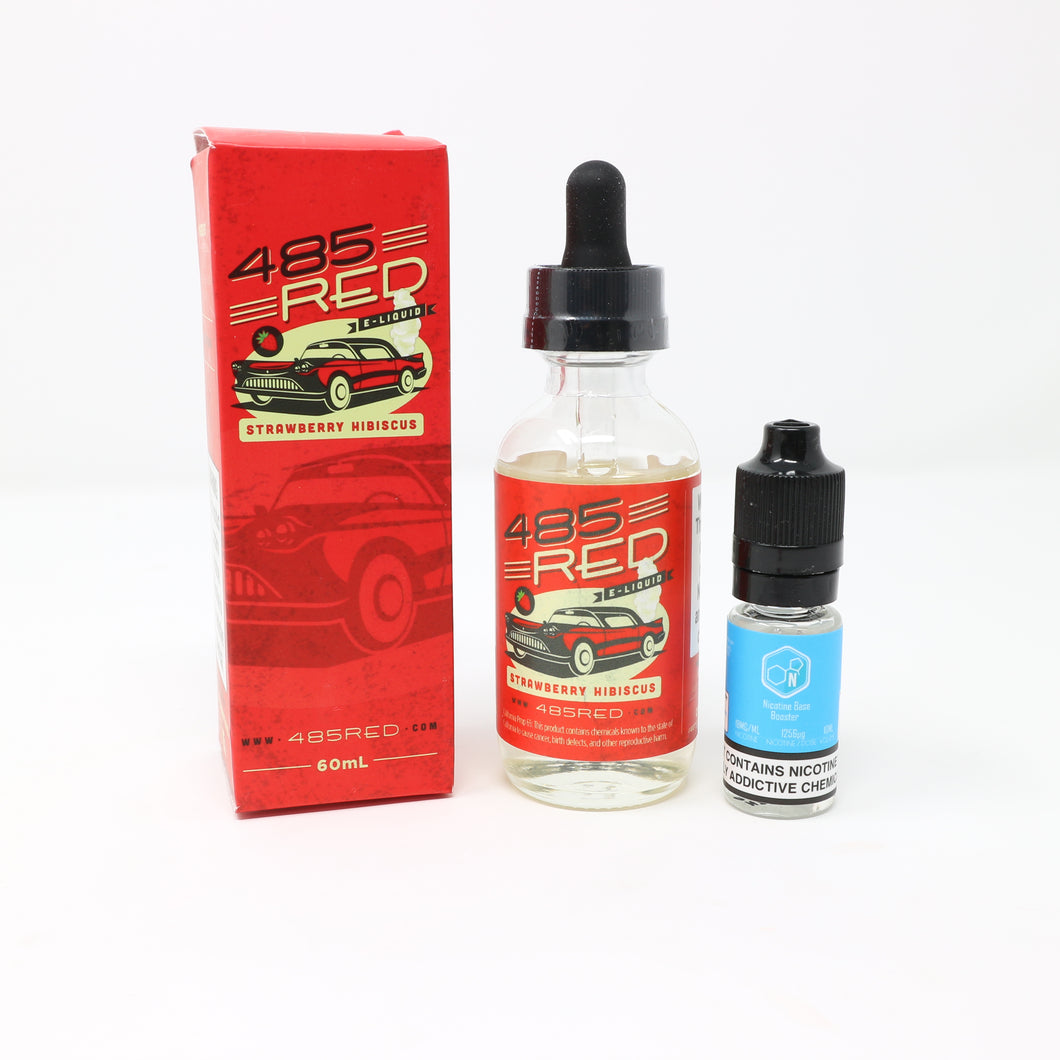 485 Red E-Liquid 50ml Shortfill