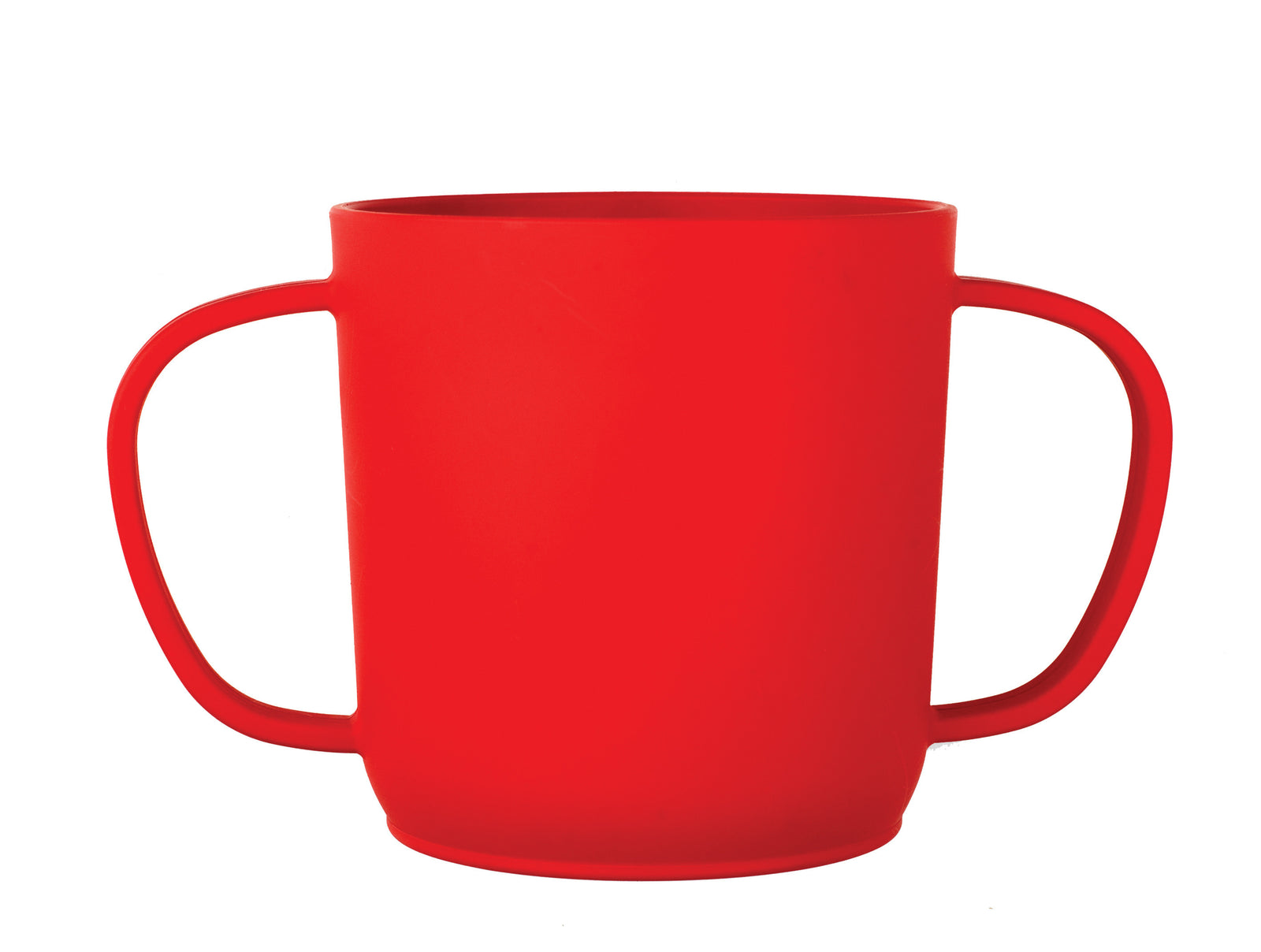 JJ Rabbit® CUPPIES® transitional training cups in Piglet Wet Coral color  (side view)