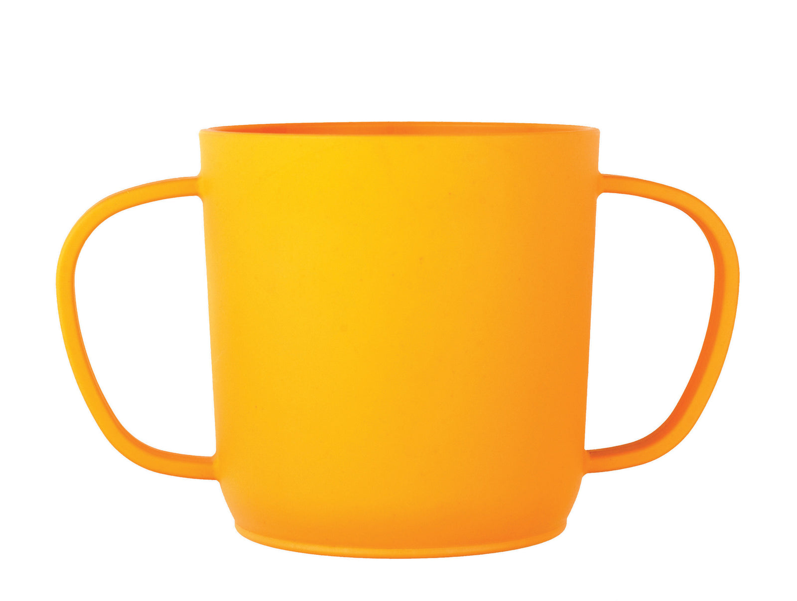 JJ Rabbit® CUPPIES® transitional training cups in Rabbit Orange Peel color (side view)