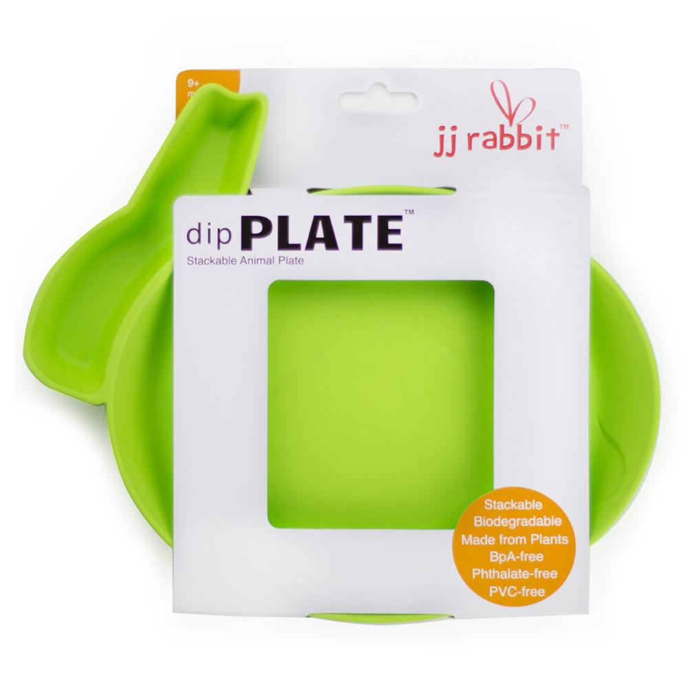 JJ Rabbit® dipPLATE™ in Lime Pop green packaged