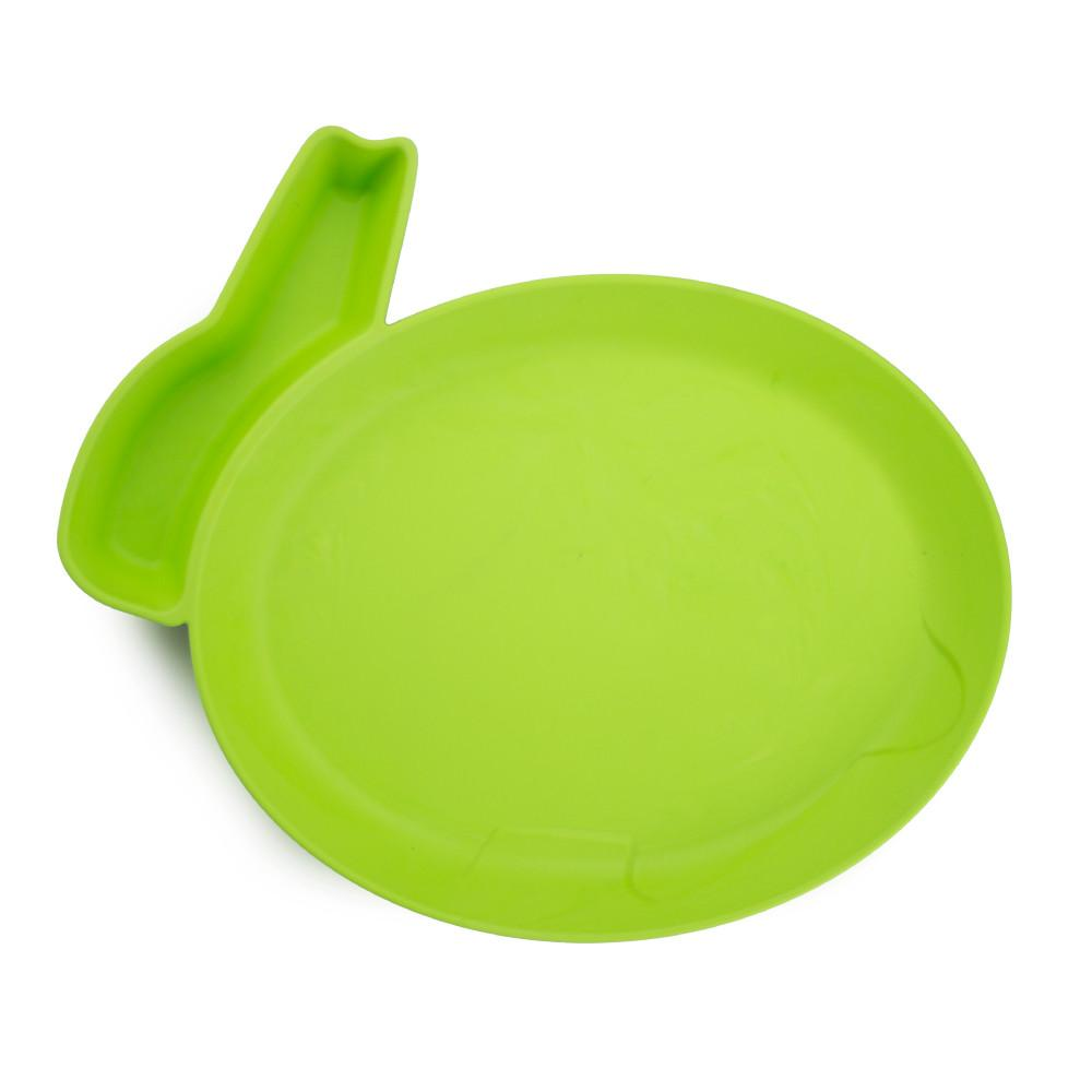 JJ Rabbit® dipPLATE™ in Lime Pop green