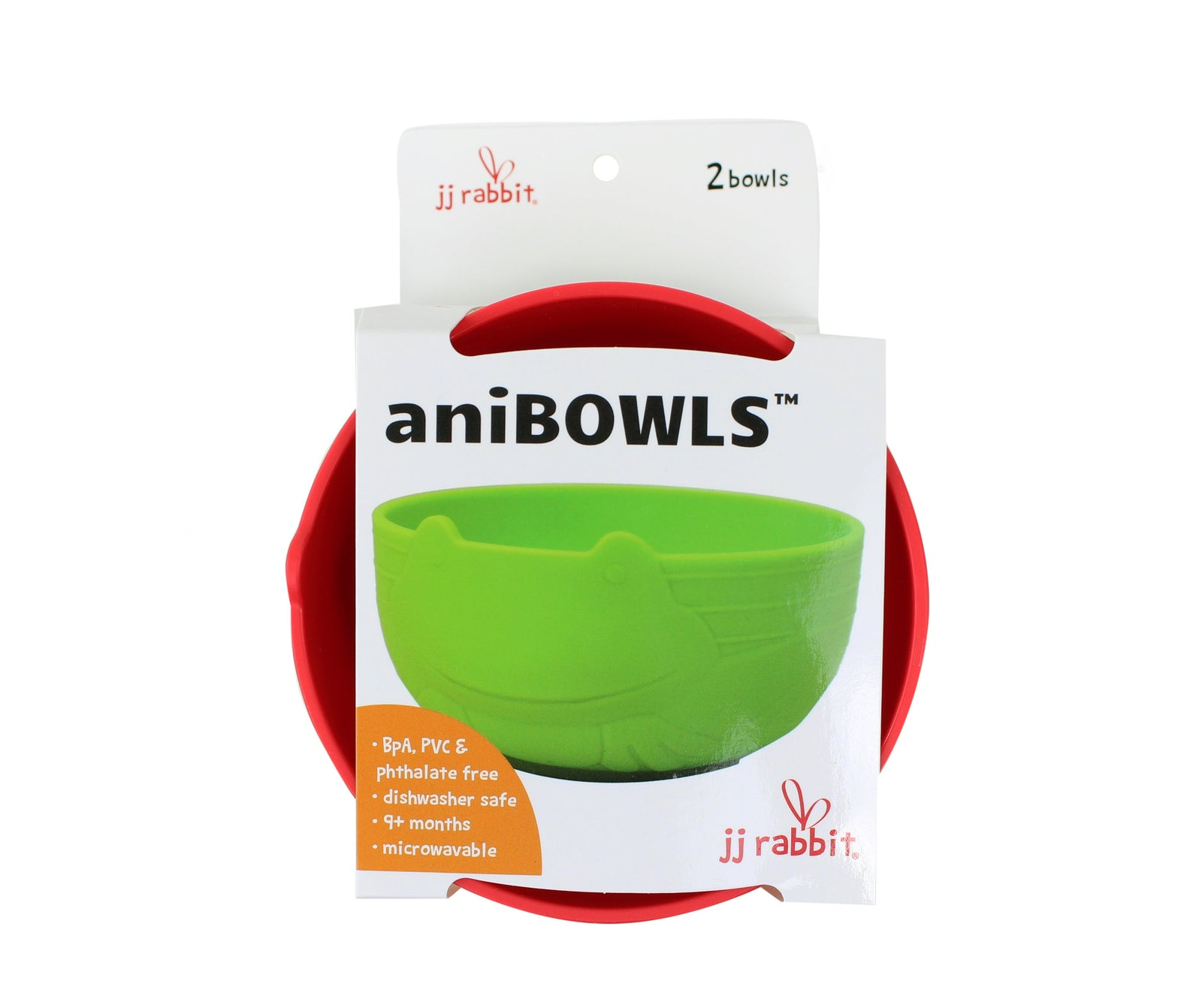 JJ Rabbit® aniBOWLs™ in (Red & Green)
