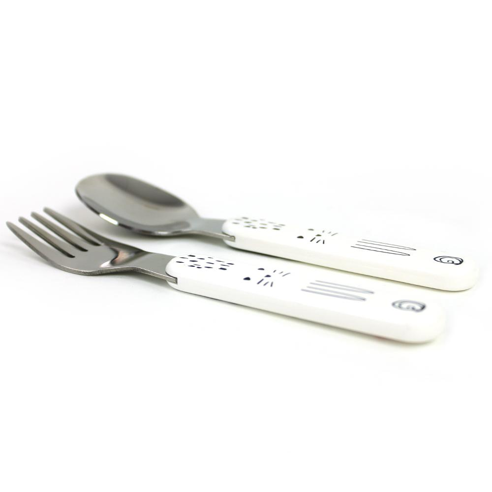 the big kid UTENSILS - Cross Hatch