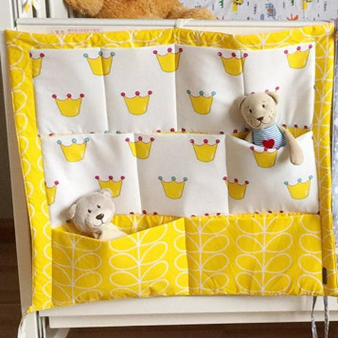 Baby Bed Hanging Storage Bedding  Bumpers