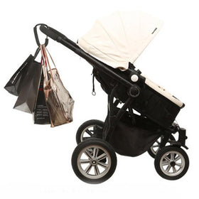Aluminium Black Pram Shopping Bag Hook