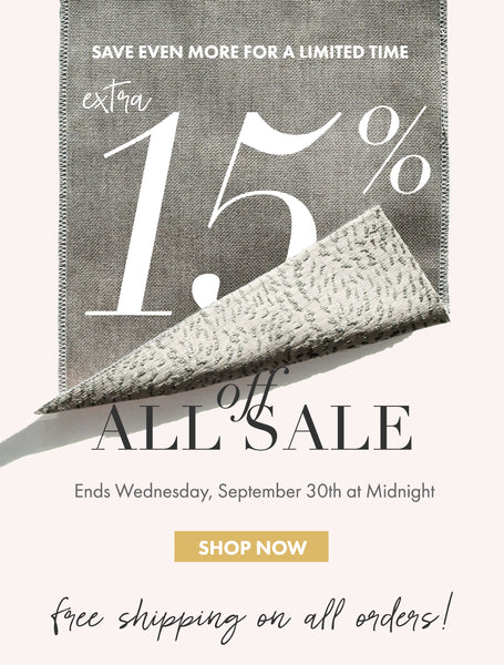 Shop Extra 15% off All Sale