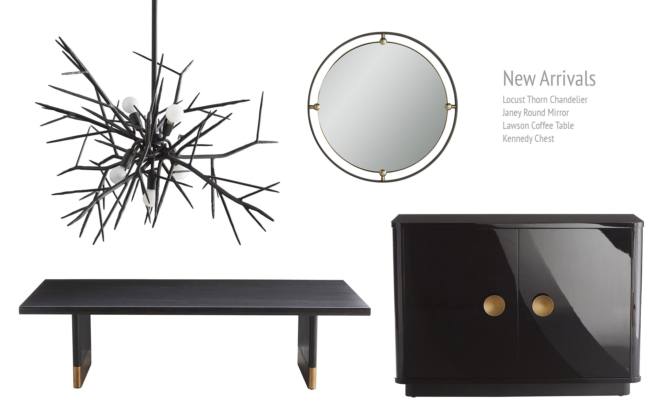 New Arrivals from Arteriors Home