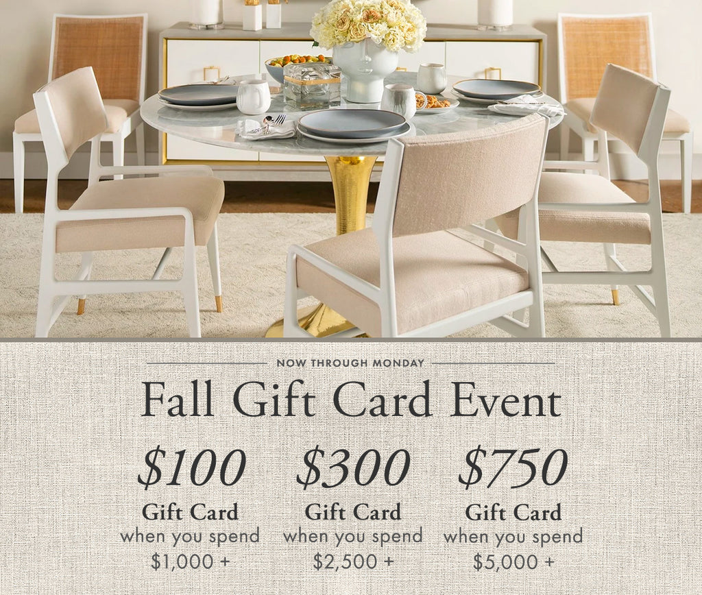 Fall Gift Card Event