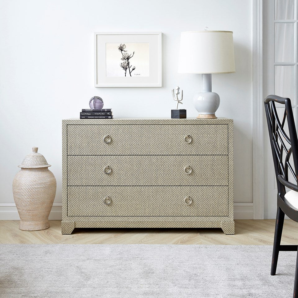 Bungalow 5 Brittany Large 3-Drawer Chest