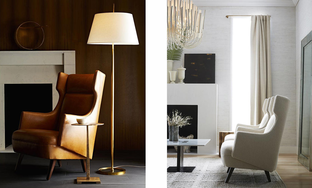 Shop Arteriors Home Budelli Wing Chairs
