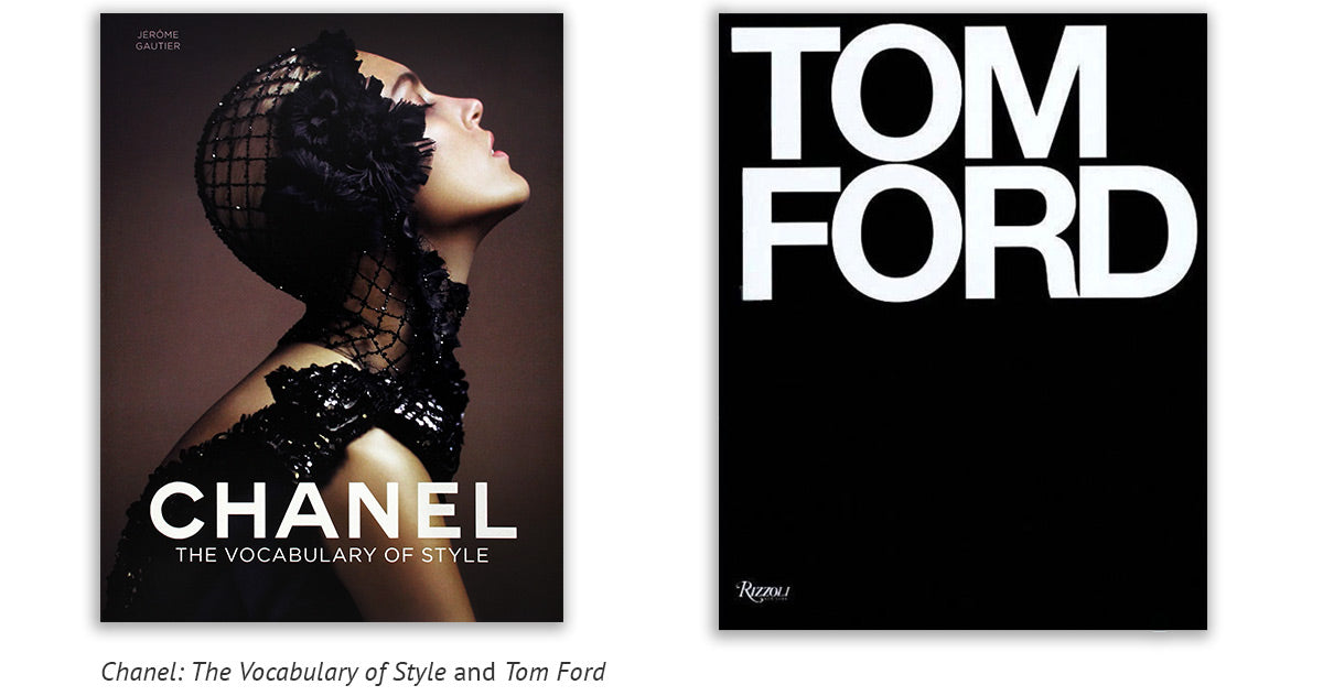 Chanel: The Vocabulary of Style and Tom Ford Book