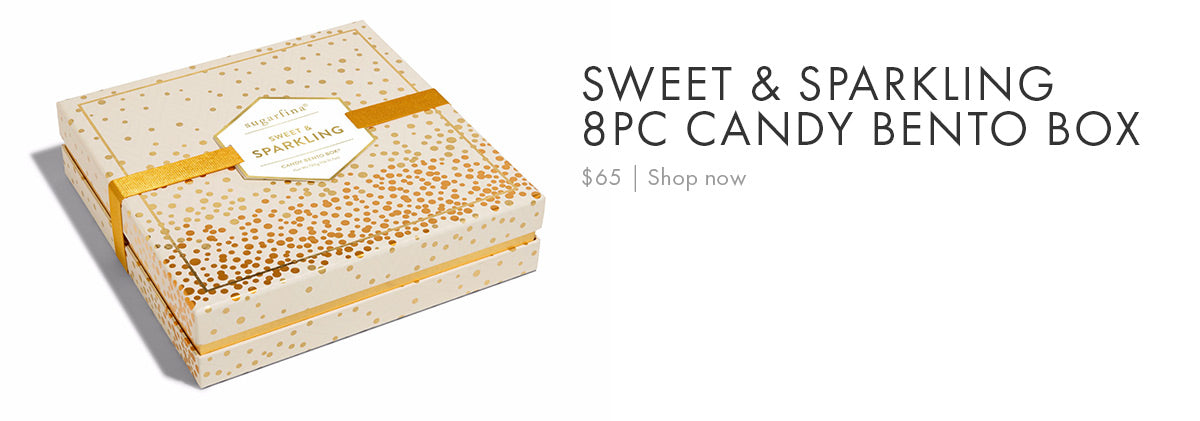 Sugarfina Sweet & Sparkling 8pc Candy Bento Box